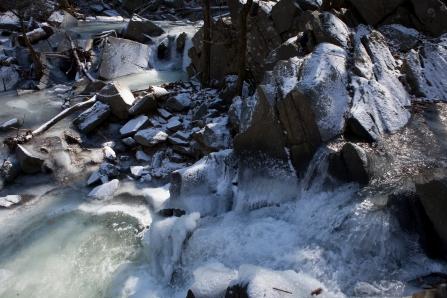 Frozen streams