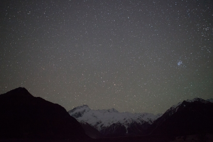 The Aoraki Mackenzie International Dark Sky Reserve is the only one in the Southern Hemisphere and one of only eight in the world.
