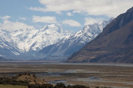 Aoraki/Mt. Cook National Park, New Zealand.